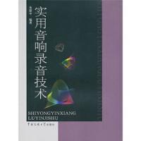 【正版新书】实用音响录音技术 朱慰中 中国传媒大学出版社 9787811279832