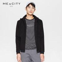 【2件2.5到手价:189】MECITY男装春季可脱卸时尚连帽运动卫衣外套韩版潮流