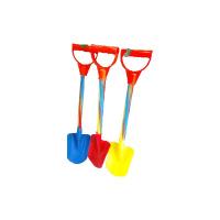 大号儿童沙滩玩具铲子 塑料沙滩铲彩色杆子加厚小孩玩沙子工具