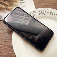 隐形卡通钢化膜iphone xs max玻璃全屏覆盖6s/7/8plus苹果X手机膜 苹果XR A梦潮影膜