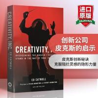 华研原版 创新公司 皮克斯的启示 英文原版 Creativity Inc 吉姆柯林斯 英文版进口英语管理学书籍 纽约时报