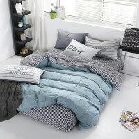 四件套 纯棉 200x230床单被套180X220 2米X2.3被罩4件套北欧风