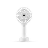 LU手持可充电usb充电风扇迷你学生宿舍床头手拿随身便携式SN9925 数显款-