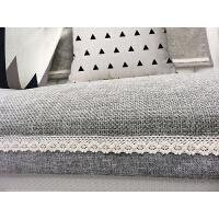 四季沙发垫亚麻沙发垫防滑沙发垫贵妃全包定做灰色四季沙发巾套罩