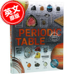 现货 DK 元素周期表百科书:一本关于化学元素的视觉百科 英文原版 The Periodic Table Book D