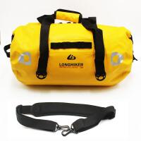 摩托车后尾包防水边包骑士包摩旅装备骑行后座横包行李旅行袋驮包 +2条绑带