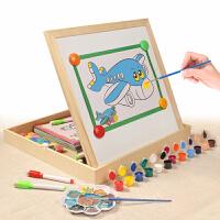 涂鸦画幼儿园 画画工具绘画套装小学生儿童涂色diy颜料画水彩画