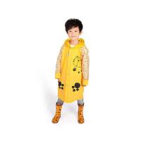 【支持礼品卡】儿童雨衣幼儿园宝宝小孩学生雨衣男童女童防水雨披带书包位 jt2