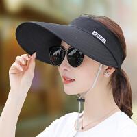 夏季遮阳帽女户外出游骑车太阳帽百搭凉帽