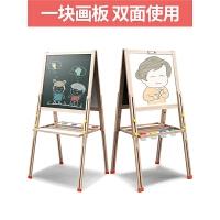 可升降画架支架式家用白板涂鸦写字板 儿童宝宝画板双面磁性小黑板