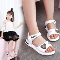 女童凉鞋学生沙滩鞋夏季儿童鞋小女孩中大童公主鞋子
