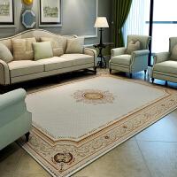 欧式地毯 客厅茶几 卧室毯雪尼尔 耐磨长方形布艺地毯可机洗满铺 2702 色
