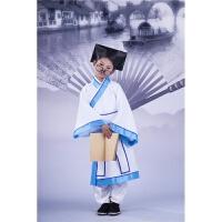 儿童汉服国学服装 少儿弟子规 书童演出服 古装服装孔子服古装