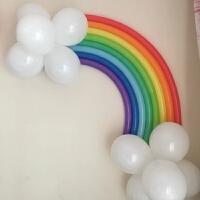 生日派对装饰用品进口260长条魔术气球造型彩虹气球造型套餐