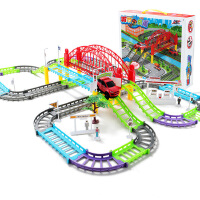 儿童轨道车玩具1-3至岁半2周岁小孩子男孩宝宝汽车益智4-5岁早教7