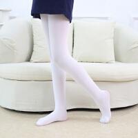 儿童连裤袜女童舞蹈袜白色打底裤袜春秋夏季薄款宝宝丝袜子练功袜