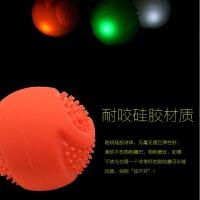 狗狗玩具USB弹力发光球夜光磨牙耐咬训犬球金毛泰迪贵宾互动玩具