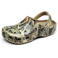 洞洞鞋女夏情侣款沙滩鞋男防滑休闲大码凉鞋外穿拖鞋