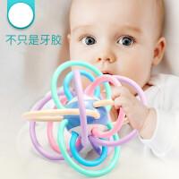 曼哈顿牙胶球能咬婴儿幼儿周半新生儿0-3-6-12个月宝宝1岁男女孩4