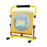 手提灯露营照明强光投射灯 led充电投光灯应急灯家用户外防水