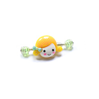 儿童发饰头饰 粉色BB儿童拉拉夹弹簧夹 宝宝女童发夹