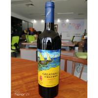 长城海岸传奇扬帆解百纳干红葡萄酒