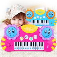 音乐琴玩具礼物 儿童电子琴手拍鼓3-6岁早教女孩多功能启蒙