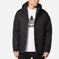 Adidas阿迪达斯 男装 NEO运动保暖棉服夹克外套 DM5582