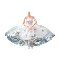 3D真眼古装娃娃蝴蝶仙子古代仙女娃娃衣服带翅膀芭芘娃娃玩具 透明袋子包装