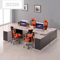 ZUCZUG新款办公家具办公桌职员桌 单人位简约现代组合员工桌工作位