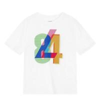 李宁短袖t恤女夏季舒适休闲透气运动生活系列GHSM026圆领短袖文化衫