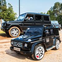 奔驰越野G55儿童电动车四轮玩具车可坐人小孩遥控汽车宝宝童车