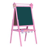 无尘白板涂鸦写字板宝宝画板双面磁性小黑板儿童家用可升降支架式