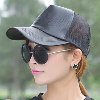 小辣椒�W帽棒球帽子 �n版夏男女士皮� 太�帽防�裾陉�帽