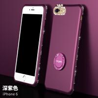 iphone6手机壳苹果6plus手机套挂绳硅胶6s六女款6p支架软全包防摔6splus软壳i6p磨