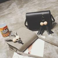 2017韩版新款时尚复古小包单肩斜跨手提小方包简约手机小包包