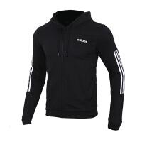 Adidas阿迪达斯 男装 运动休闲连帽训练夹克外套 DZ7696