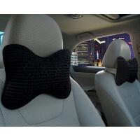 汽车头枕一对车用夏季冰丝座椅头枕四季车载脖子颈椎枕靠枕SN8437