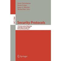 【预订】Security Protocols 9783540283898