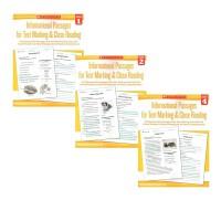 (300减100)【小学全年级 1-6年级】积极阅读策略精读 Informational Passages Text Marking Grade 1-6  高年级阅读练习册6册 英文原版