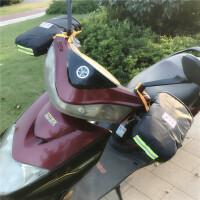 电动车手套冬季棉把套电瓶车摩托车护手加厚挡风防寒防水保暖男女