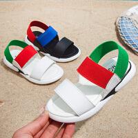 儿童凉鞋夏季2019新款女童凉鞋时尚中大童韩版宝宝男童沙滩凉鞋