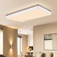 雷士照明遥控led吸顶灯简约大气后现代客厅灯长方形圆形卧室灯具