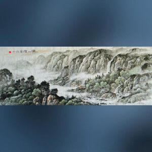 实力派画家    王岩  深山雅居  /09