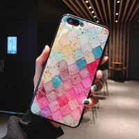苹果x手机壳iPhone7plus潮女款xr创意简约8plus个性彩绘iPhone6splus滴胶金