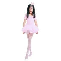 儿童丝袜连裤袜夏薄款女童白色舞蹈袜子小女孩透明透气弹力打底裤