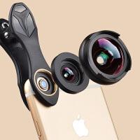 手机镜头微距iPhone67三星华为通用单反摄像头外置高清APEXEL广角