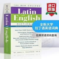 全新大学拉丁语英语词典 The Bantam New College Latin English Dictionary