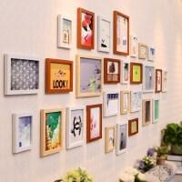 简约现代客厅照片墙装饰 相框墙欧式相框创意挂墙组合相片墙kt0