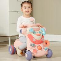 曼龙宝宝学步车小孩婴儿小推车防o型腿防侧翻助步学行车